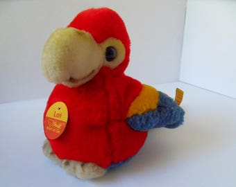 Steiff bird parrot all Ids made in Germany 2377