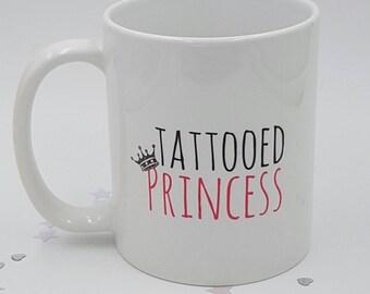 Princesse tatouée mug tatouage