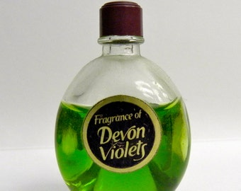 Devon Violets Glass Perfume Bottle