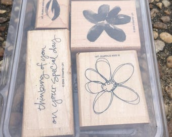 Stampin' Up! stamp set remembering you
