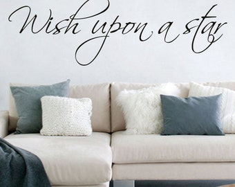 Wish upon a star - Vinyl Wall Decal
