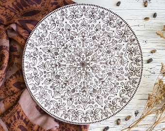 Indian plate - Decorative plate - Wall hangings - Home accents