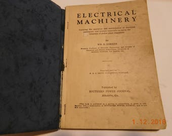 Vintage Electrical Machinery Book