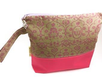 Pink Butterflies Project Bag