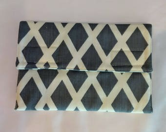 Padded Kindle case, Kindle Paperwhite case,Kindle protection, Kindle cover, Gray Kindle case, Tablet case