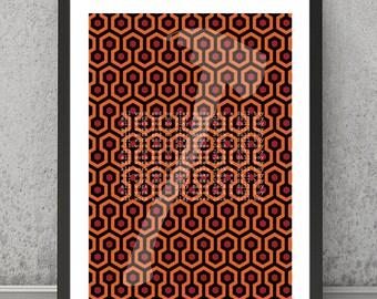 The Shining print, The Shining poster, The Shining art, Kubrick print, Kubrick poster, contemporary print, contemporary poster, movie poster