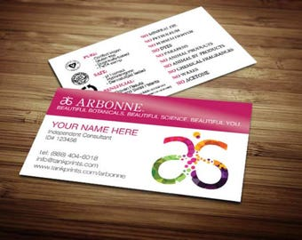 Arbonne Business Card Design 5 Modified