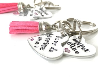 Grandma keychain | gift for Grandma | gift of grandchildren | gift for Grandpa | gift for mum