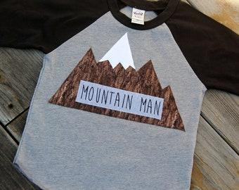 Colorado Shirt, Mountain Shirt, Hiking Shirt, Mountain Man Shirt