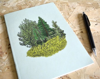 Notebook tiny forest