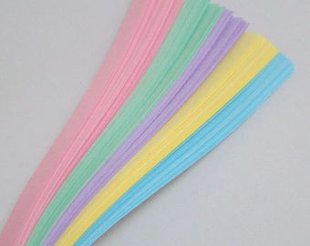 Pastel Mix : Lucky Stars Paper Strips (100)