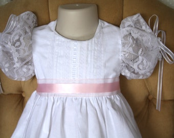 Baptism/Christening Gown and Bonnet