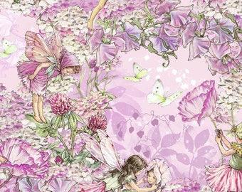 Fabric, children, fairies, flowers, fairies