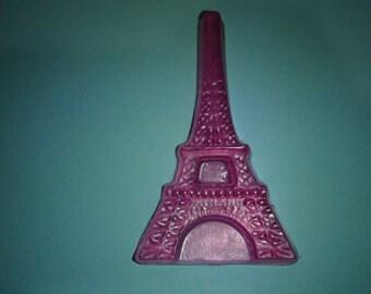 3 Pink Eiffel Tower Glycerin Soaps