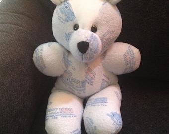 Baby Sleeper Memory Keepsake Bear and other keepsake bears