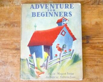 Antique ABC Children's Book - Adventure For Beginners