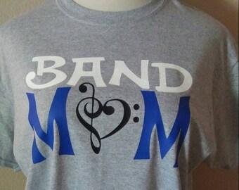 Band Mom t shirt
