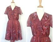 Vintage 70s Dress - full ...