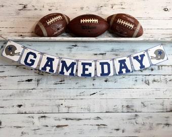 Dallas Cowboys,Dallas Cowboys Football,Dallas Cowboys Banner,Cowboys Football,Dallas Cowboys Decor,Dallas Football,Game Day Banner,GameDay