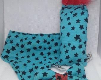 Blue Star Bandana, Bowtie and Kicker- 3 Piece Set