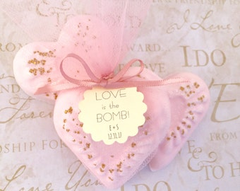 Personalized Wedding Favors - Personalized Bridal Shower Favors - Bachelorette Party - Wedding Favors -Bridal Shower Favor - Bath Bomb Favor