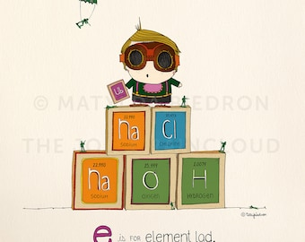 E is for Element Lad