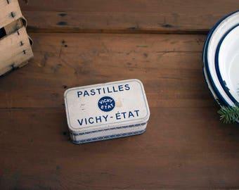 Vintage French Pastilles Vichy Tin