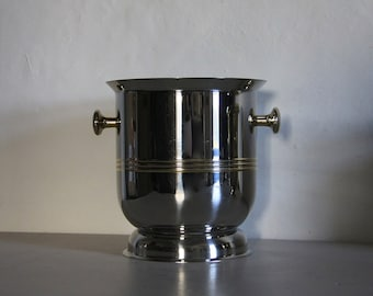 French Vintage Champagne Bucket Art Deco Style