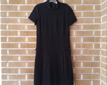 60s mod retro beatnik dress
