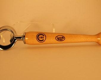 Baseball Bat Bottle Opener