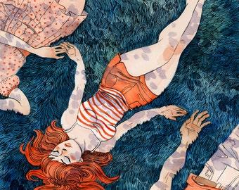 Summer - 11x12 print