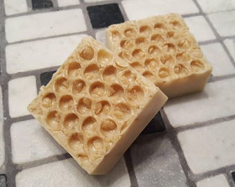 Oatmeal and Honey Soap, Oatmeal Soap, Honey Soap