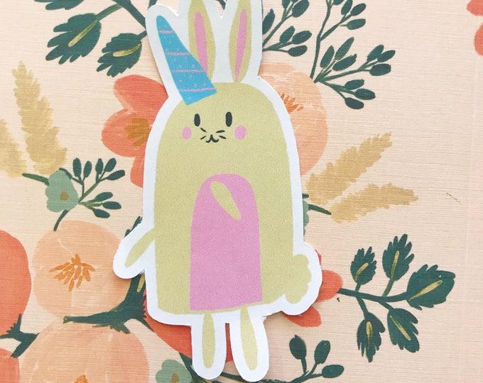 Unicorn Bunny Die Cut