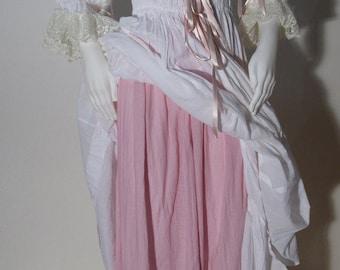"Underskirt for ""Chemise à la Reine"" 18 century Marie Antoinette  - undergarment 18 th -  donna sottogonna"