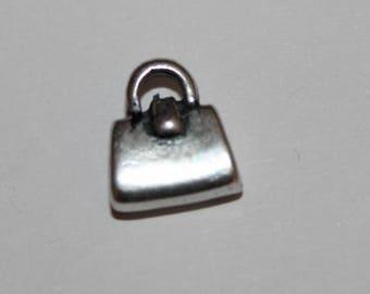 pretty 10 * 10 mm purse charm