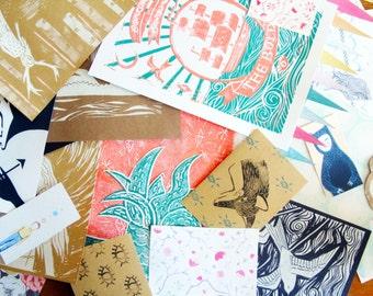 Mystery Pack! paper craft ephermera grab bag