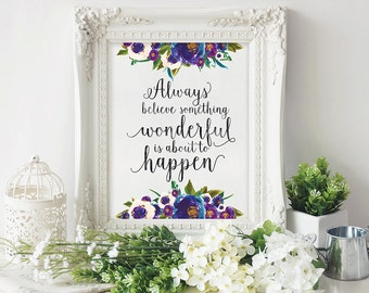 Quote Printable - Dorm Decor - Printable Art - Printable Quote - Inspirational Quote - Digital Quote - Typography Print - Printable Wall Art