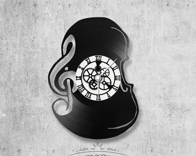 Vinyl 33 clock towers theme violin