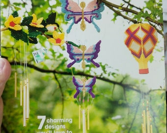 Plastic Canvas Wind Chimes Pattern Book