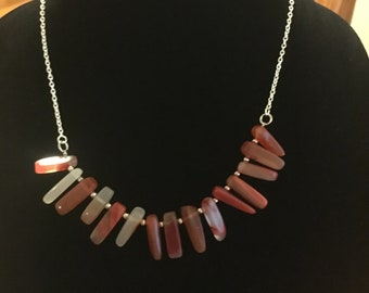 Red Agate Neclace