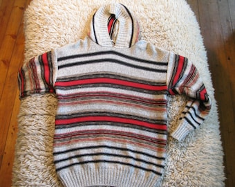 Cotton striped sweater 1990s