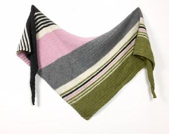 Slantways Shawl Crochet Pattern - English, Swedish