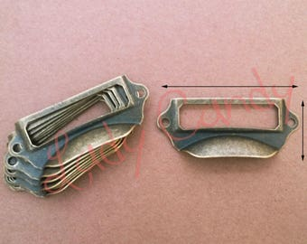 10 label shell iron Drawer Dresser sideboard #120028 furniture door handle
