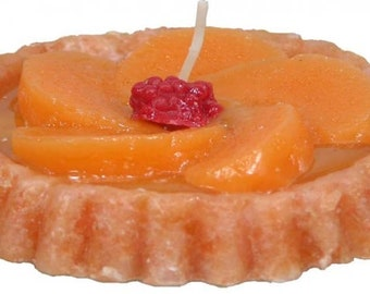 Candle Fruit Tart Peach