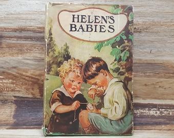 Helens Babies, 1910, John Habbrton, vintage kids book, Antique book