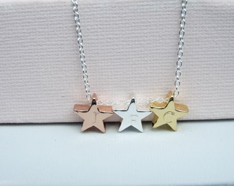 STAR INITIAL Necklace, Women's, Girl's, Jewellery, Gift, For Daughter, Niece, Sister, Mother, Personalised, Birthday, For Her, Mothers Day