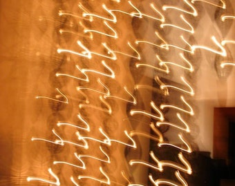 Locks of Light, Fine Art Abstract Photograph by DENISE SLOAN