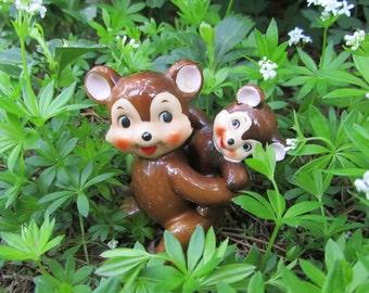 Vintage Bear Shakers Napco Bear Cub Set Japan Salt and Pepper