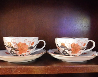 Ming Royale Teacup and Saucer (2)