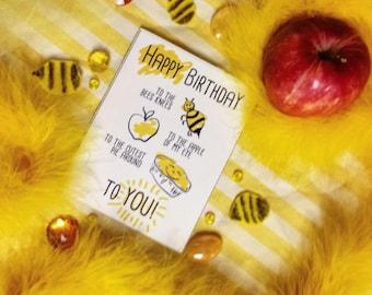 Bees Knees Birthday Card